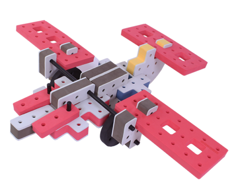 skum legetøj, skumlegetøj byggesæt medium flyver