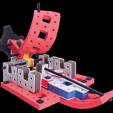 skum legetøj, avanceret bygge konstruktionslegetøj byggesæt luftbåd