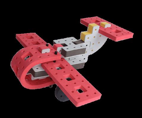 skum legetøj, skumlegetøj byggesæt flyver