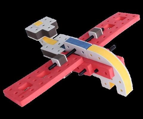 skum legetøj, kreativ legetøj byggesæt hurtig flyver