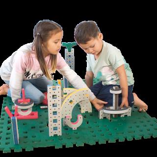 skum legetøj bygge