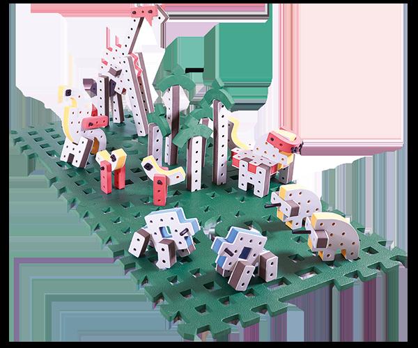 BAKOBA motorik legetøj zoo