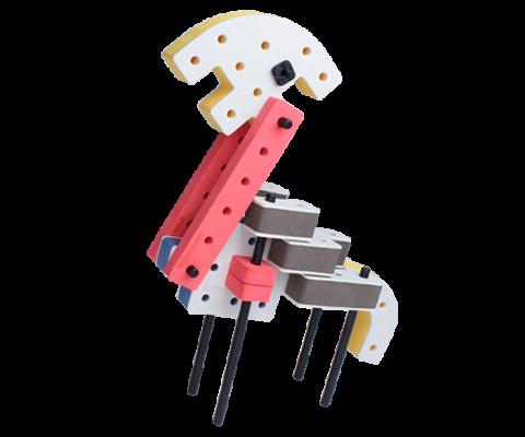 skum legetøj, kreativ legetøj byggesæt giraf