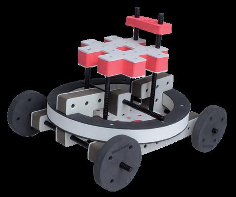 skumlegetøj motorik legetøj byggesæt lunar rover