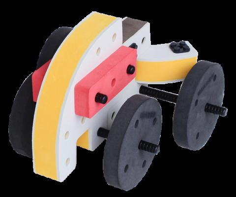 skum legetøj, kreativ legetøj mini bil