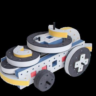 skumlegetøj motorik legetøj byggesæt månebil