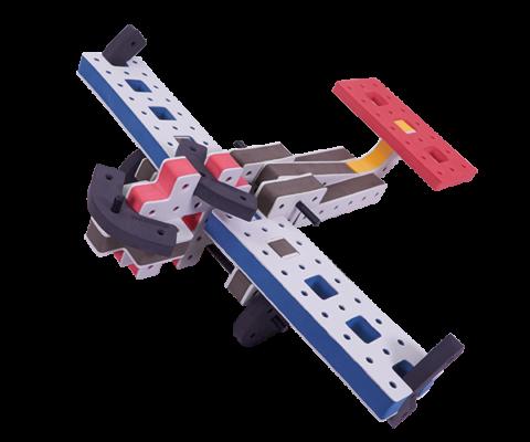skum legetøj byggekloser byggesæt militærfly