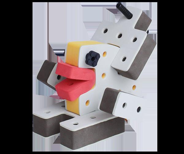 skum legetøj, kreaetiv legetøj byggesæt talisman
