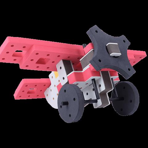 skum legetøj, skumlegetøj byggesæt propel fly
