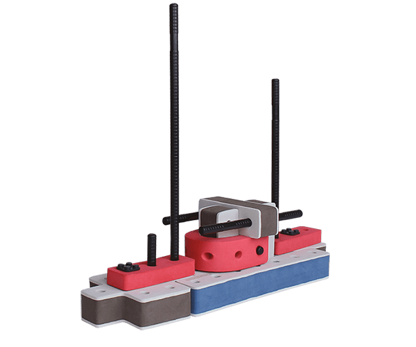 skum legetøj byggeklodser byggesæt lille tøf båd