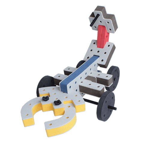 skum legetøj, kreativ legetøj scorpion bil