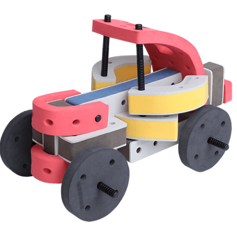 skum legetøj, kreativ legetøj klassisk simpel bil