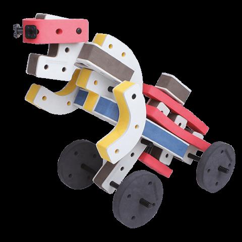 skum legetøj, kreativ legetøj robot bil